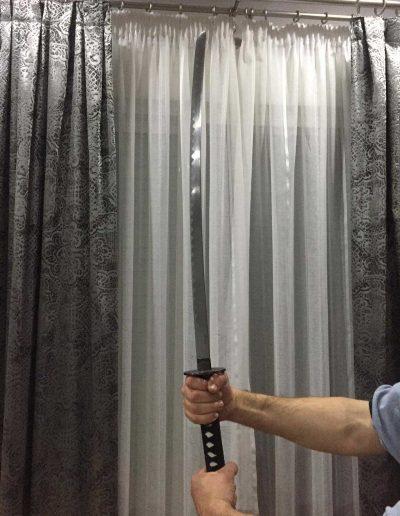 Katana Hattori Hanzo Kill Bill de Pedro