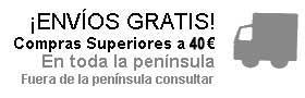 Envío Gratis en compras superiores a 20€