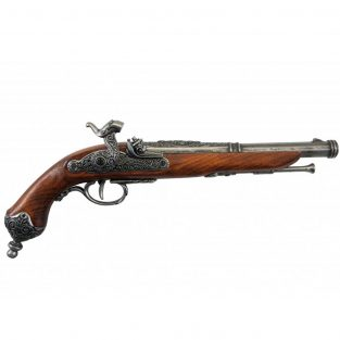 Pistola-Italiana-(Brescia),-1825.-Ref.-1013G.-DENIX.