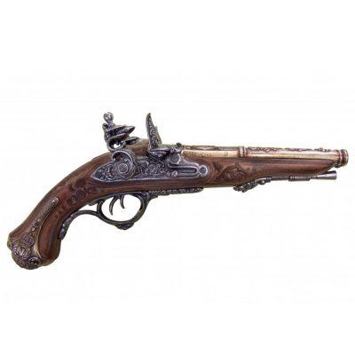 Pistola-de-2-canones-de-Napoleon,-Francia-1806.-Ref.-1026.-DENIX