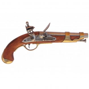 Pistola-de-caballeria,-Francia-1806.-Ref.-1011.-DENIX.