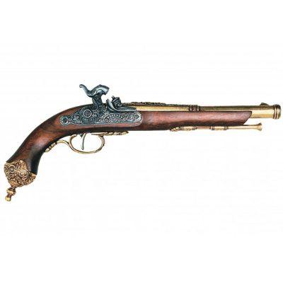 Pistola de percusion Italiana brescia, 1825. Ref.1013L. DENIX