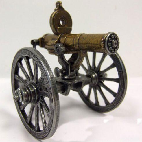 Ametralladora-Gatlin,-U.S.A.1861.-Ref.-421.-DENIX.-(11)