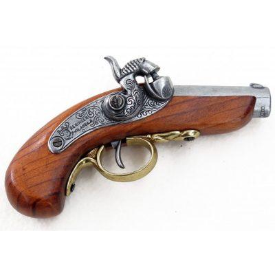 Pistola-Baby-Philadelphia-Deringer,-USA-1850.-Ref.-1018.-DENIX.