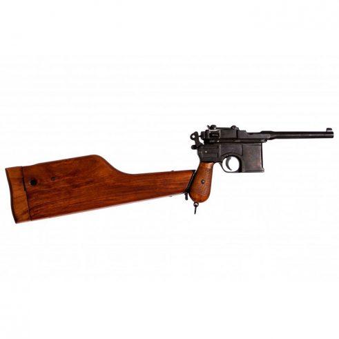 Pistola-C96,-,-con-funda-culata-de-madera..-Ref.-1025.-DENIX