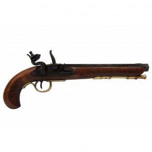 Pistola-Kentucky,-U.S.A.-S.-XIX.-Ref.-1135-L.-DENIX.