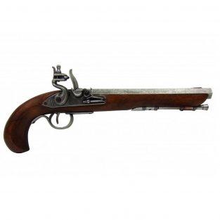 Pistola-Kentucky,-U.S.A.-S.-XIX.-Ref.-1135G.-DENIX.