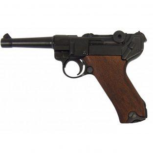 Pistola-Parabellum-Luger-P08,-Alemania-1898-Ref.-M-1143.-DENIX.