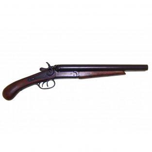 Pistola-de-2-cañones-recortados,-EUA-1868.-Ref.-1114.-DENIX