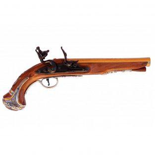 Pistola-del-General-Washistong,-Inglaterra-S.-XVIII-.-Ref.-1228.-DENIX