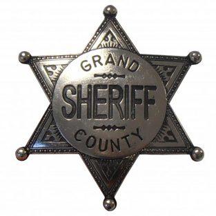 Placa-de-sheriff-Grand-County.-Ref.-113 NQ.-DENIX.