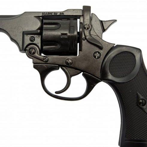 Revolver-Mk4,-Reino-Unido-1923-(Segunda-Guerra-Mundial).-Ref.-1119.-DENIX-(1)