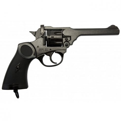 Revolver-Mk4,-Reino-Unido-1923-(Segunda-Guerra-Mundial).-Ref.-1119.-DENIX