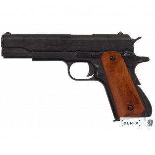 Pistola automática M1911 A1 Fabricada por Colt USA1911 cachas plástico marrón