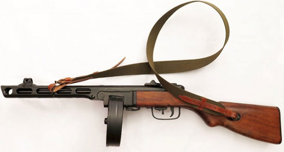 Subfusil PPSH-41 Unión Soviética 1941DENIX
