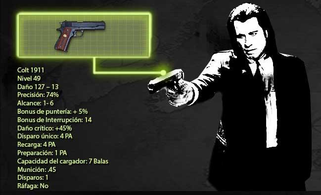 Colt M1911 en Pulp Fiction