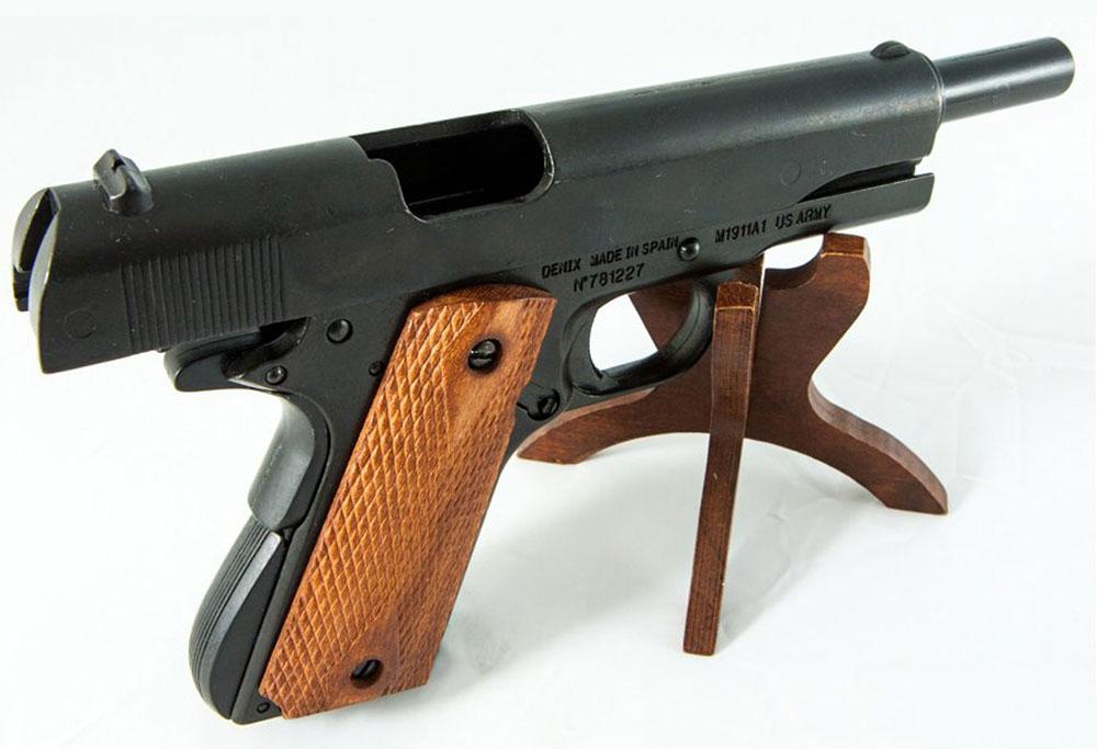 Colt m1911 Mecanismo simulador de carga y disparo