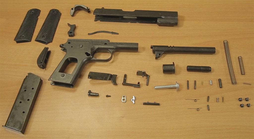 Colt m1911 Desmontable