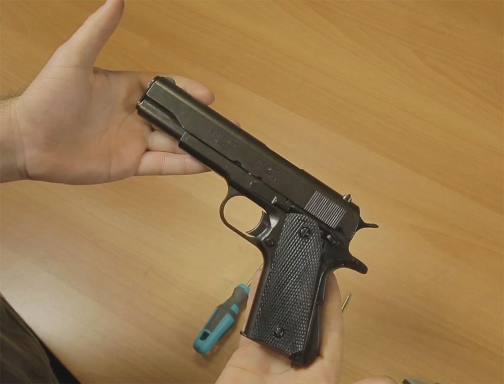 Colt m1911 Sensación realista al tenerla en tus manos